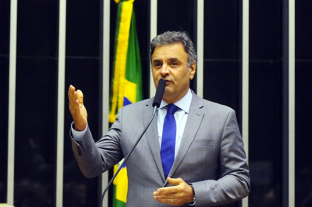 Aécio Neves no Senado Federal