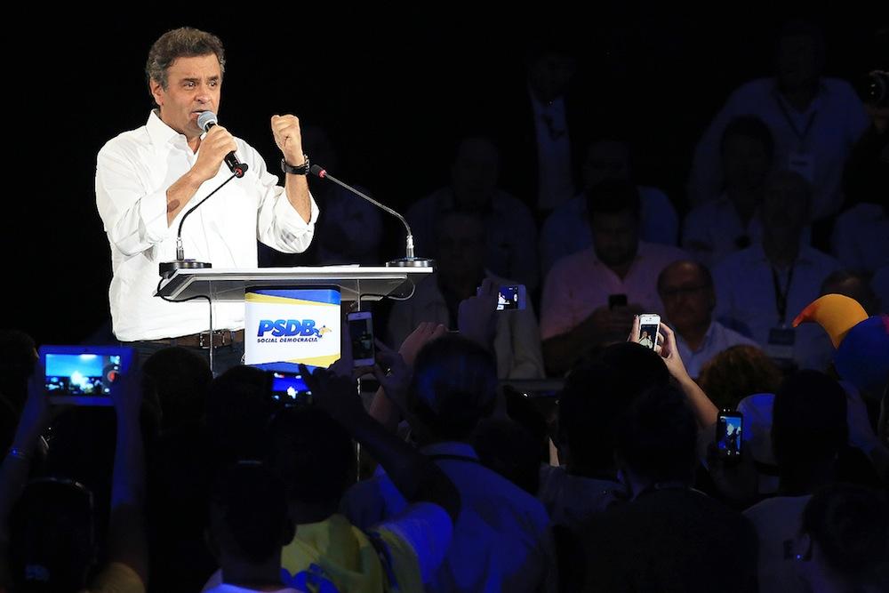 Aécio Neves Convenção PSDB