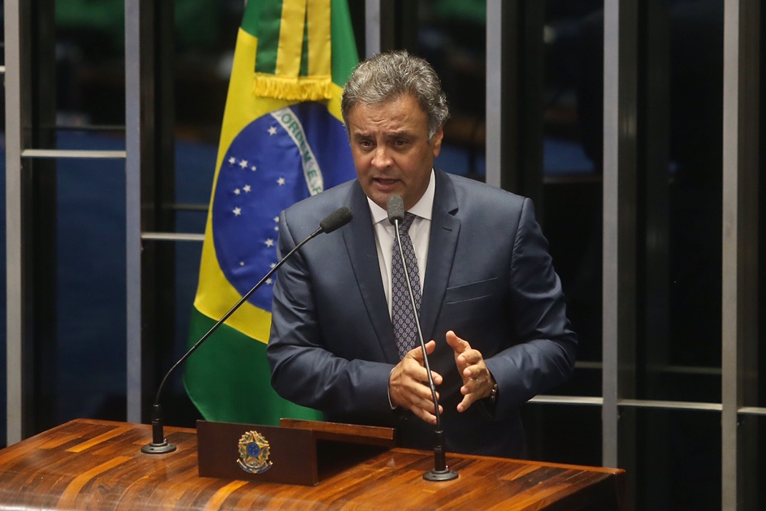 Aécio Neves Pronunciamento