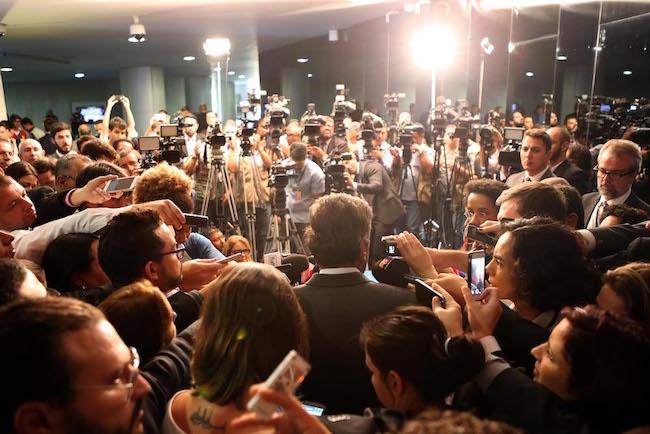 Aécio Neves - Afastamento da presidente Dilma Rousseff