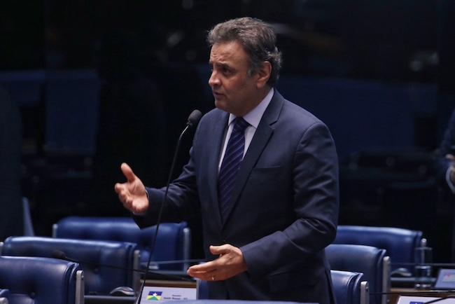 Aécio Neves Plenário do Senado