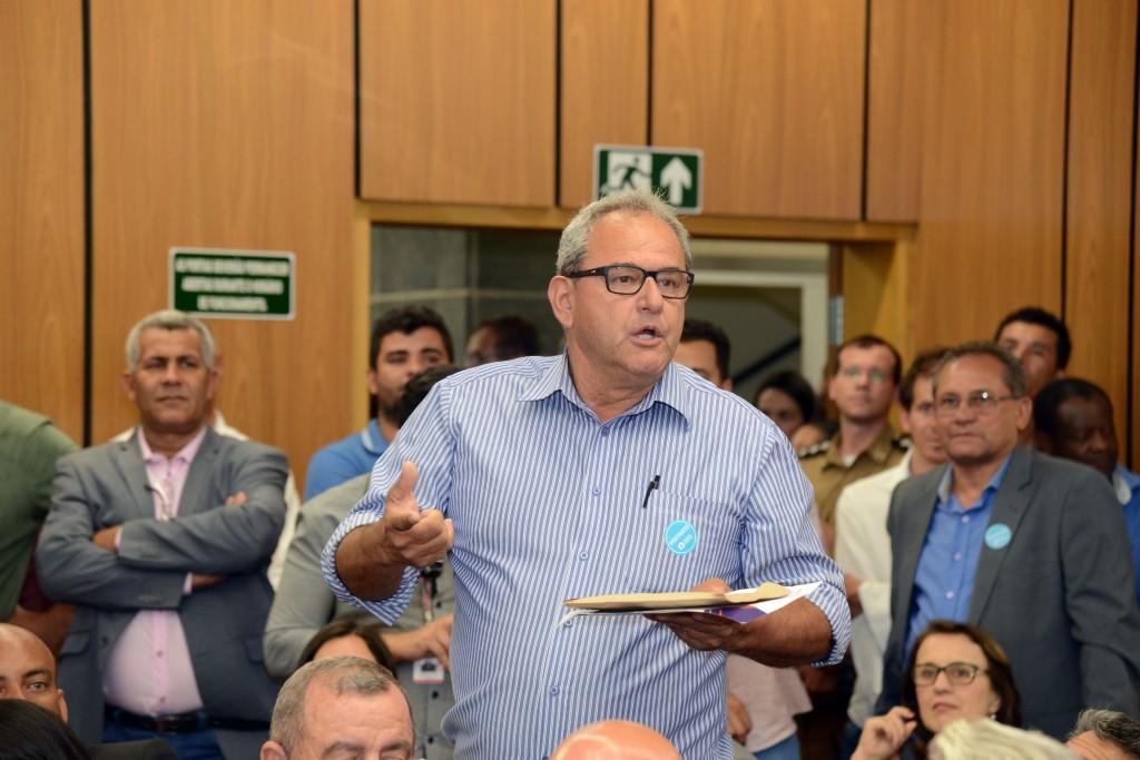 Prefeito de São Pedro da União Custódio Ribeiro Garcia