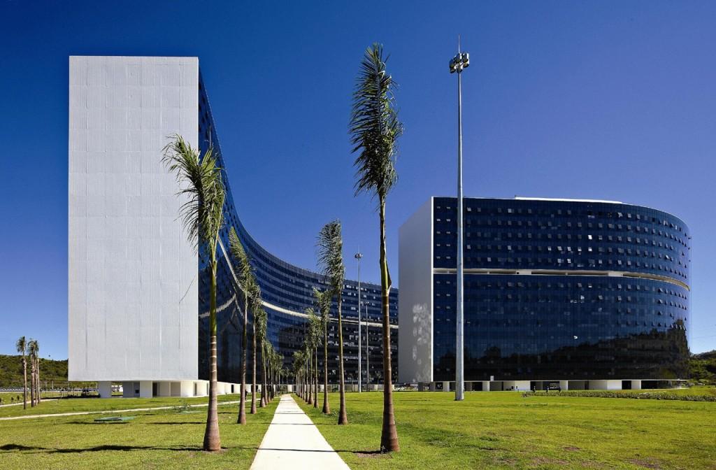 Prédios Minas e Gerais - Cidade Administrativa Presidente Tancredo Neves - Foto: Carlos Alberto/Secom
